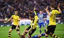 Hertha Berlin - Dortmund: Aubameyang bị bắt chết