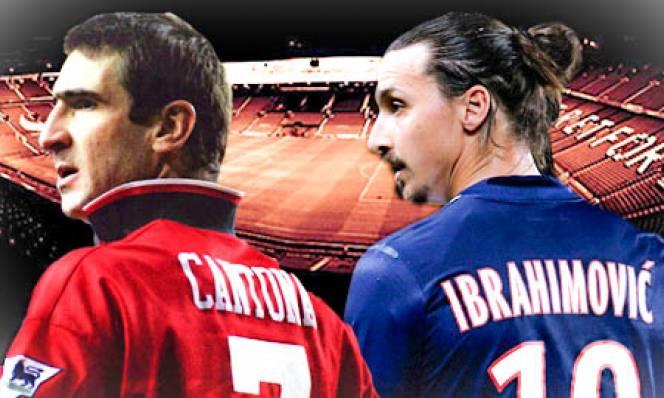 Cantona & Ibrahimovic: Khí chất của đại ca