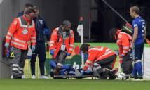 Tân binh của Schalke dính chấn thương kinh hoàng