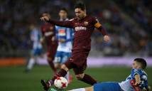 KẾT QUẢ Espanyol - Barcelona: Derby không khoan nhượng, nhát kiếm chí tử