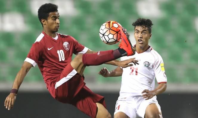 KẾT QUẢ U23 Qatar - U23 Palestine: Qatar thắng nghẹt thở vào bán kết