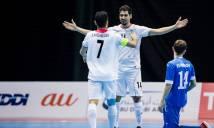 Đại thắng Nhật Bản, Iran ngạo nghễ bảo vệ ngôi vương futsal châu Á