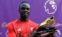 Mane cùng Salah và Aubameyang nhận danh hiệu chiếc giày vàng Premier League