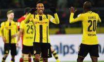 Aubameyang tỏa sáng, Dortmund ngắt mạch bất bại của Bayern
