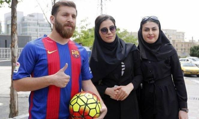 Thanh niên người Iran bị cảnh sát bắt giữ vì quá giống Messi