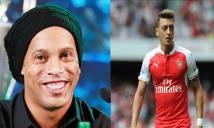Điểm tin chiều 14/4: Ozil chơi bài ngửa với Arsenal; CLB Sài Gòn mời Ronaldinho đá V-League
