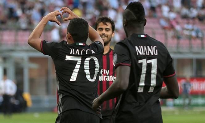 Tái sinh cặp Bacca - Niang, Milan mới mong tiến lên