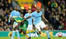 XEM TRỰC TIẾP Norwich City vs Man City: Giấc mơ con đè nát cuộc đời... chim