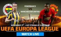Thông tin cần biết loạt trận vòng bảng Europa League đêm 3/11