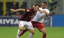 Kết quả bóng đá vòng 19 Serie A: Milan và Roma sảy chân