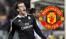 Man United chưa từ bỏ tham vọng sỡ hữu Bale