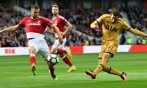 Tottenham vs Middlesbrough, 00h30 ngày 05/02: Vùng chết