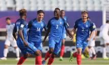 Đẳng cấp khác biệt, U20 Pháp thắng dễ trận ra quân