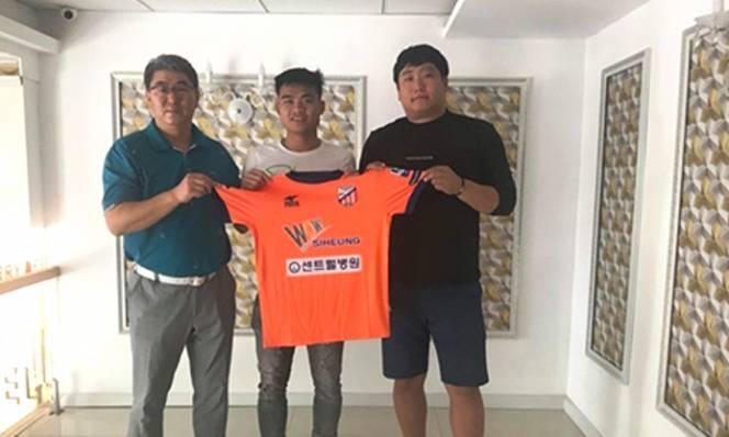 CHÍNH THỨC: CLB Hàn Quốc chiêu mộ cựu tuyển thủ U23 Việt Nam
