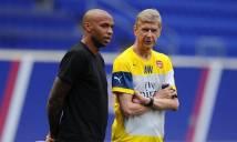 Thierry Henry có phải lựa chọn tốt nhất thay Wenger
