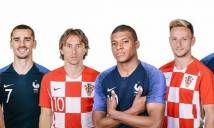 Đội hình dự kiến và thông tin lực lượng chung kết World Cup 2018: Pháp vs Croatia