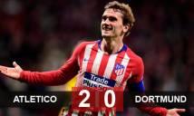 Atletico 2-0 Dortmund: Đòi nợ thành công
