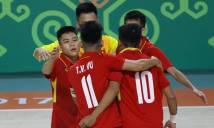 Futsal Việt Nam thắng chủ nhà Turkmenistan giành vé vào vòng Tứ kết AIMAG 5