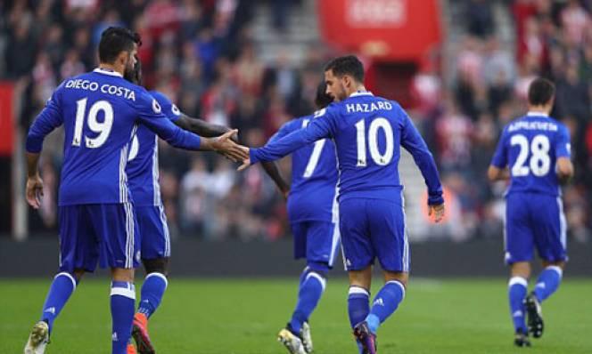 Hazard - Costa lên đỉnh, Chelsea 'bay' vào top 4