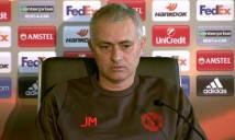 Mourinho ngán ngẩm sau lễ bốc thăm vòng 1/8 Europa League