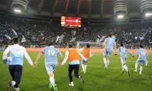 Chùm ảnh: Thắng Derby, Lazio ăn mừng như những nhà vô địch