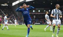 Vardy lập công, Leicester coi như thoát hiểm