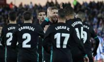 KẾT QUẢ Leganes - Real Madrid: Ngược dòng đẳng cấp, phạt đền phút 90