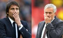 Tâm điểm cuối tuần: Cuộc đối đầu giữa Conte-Mourinho