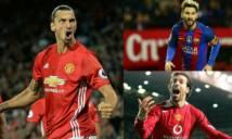 Ibra ngang tầm Messi, giỏi hơn Van Nistelrooy
