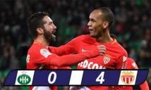Nghiền nát đối thủ, Monaco tiếp tục bám đuổi PSG trên đỉnh BXH
