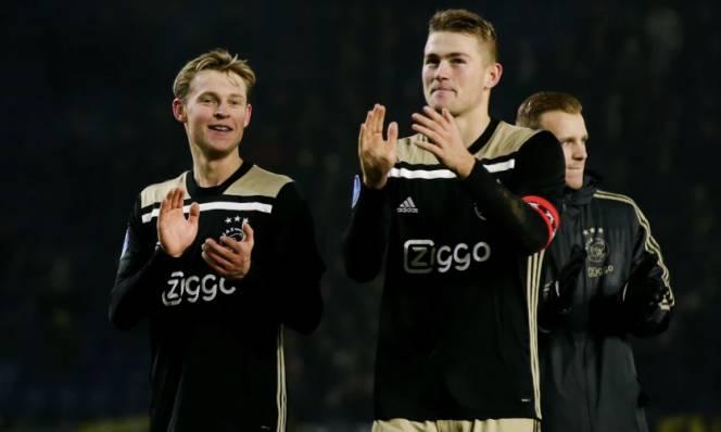 """Hai """"bom tấn"""" De Jong – De Ligt: Làm đệ Messi hay Ronaldo sướng hơn?"""