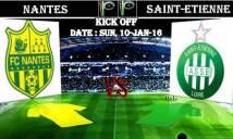 Nantes vs Saint-Etienne, 20h00 ngày 10/01: Vẫn sẽ lại hòa