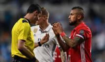 Sao Bayern bức xúc tột độ với những quyết định của trọng tài