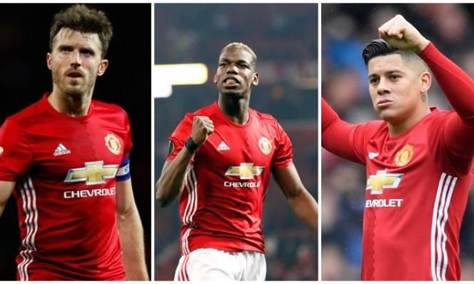 Mourinho mừng ra mặt khi bộ ba 'thương binh' Pogba, Rojo và Carrick sắp trở lại