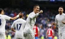 Vòng 13 La Liga: Real và Ronaldo bứt phá