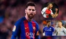 Điểm tin chiều 23/03: Messi thúc giục Barca tậu 'Henry mới', Ronaldo ngăn Real mua 3 sao bự