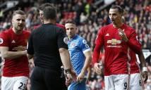 CHÍNH THỨC: Ibrahimovic bị LĐBĐ Anh treo giò 3 trận