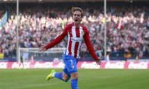 Griezmann tỏa sáng, Atlético Madrid dễ dàng hạ gục Sevilla
