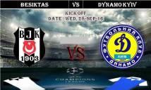 Besiktas vs Dynamo Kyiv, 01h45 ngày 29/9: Ngang tài ngang sức