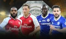 Chelsea và Arsenal đá đội hình nào ở Siêu Cúp Anh?