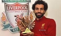 Salah giành… 35 giải thưởng mùa này