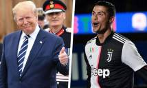 Tổng thống Trump lên tiếng ca ngợi sức hút của Ronaldo