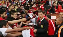 Van Gaal được fan tri ân nồng hậu ngày giải nghệ