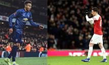 Oezil trêu tức Lingard sau khi Arsenal cắt chuỗi bất bại của M.U