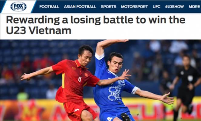 Báo châu Á nói gì về trận thua của U23 Việt Nam?