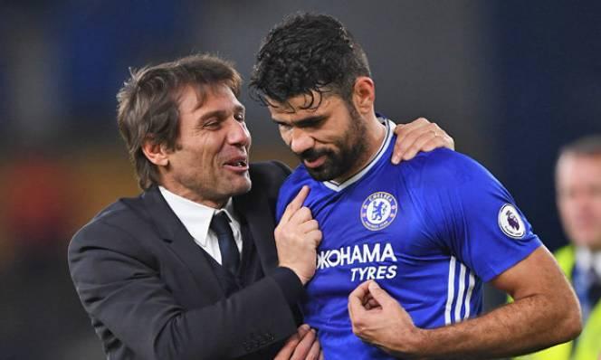 Conte: 'Tôi muốn đuổi Costa từ tháng Một. Morata sẽ là trung phong số 1'
