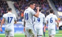 Nếu phải rời Real Madrid, James Rodriguez sẽ chọn...
