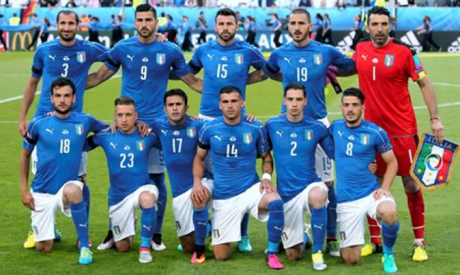 Giá cầu thủ Italia tăng mạnh sau EURO 2016