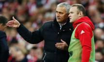 Rooney lần đầu đá vị trí mới dưới thời Mourinho?