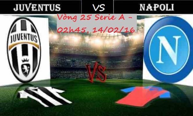 Juventus vs Napoli, 02h45 ngày 14/02: Trận cầu thượng đỉnh